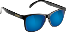 Glassy Sunhaters - Deric Blk / Blue Mirror Sunglasses