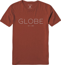 Globe - Phase Ss S - Rose Brown - Skateboard Tshirt