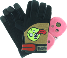 Holesom - Cords Slide Gloves S / M - Blk / Brn / Asst - Skateboard Pads