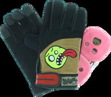 Holesom - Cords Slide Gloves L / Xl - Blk / Brn / Asst - Skateboard Pads