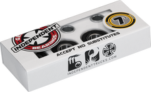 Independent - 7s Abec - 7 Single Set Bearings - Skateboard Bearings