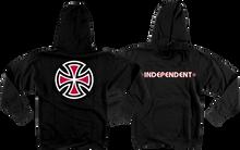 Independent - Bar / Cross Hd / Swt S - Black - Skateboard Sweatshirt