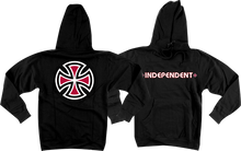 Independent - Bar / Cross Hd / Swt Xl - Black - Skateboard Sweatshirt