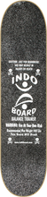 Indoboard - Mini Kicktail Deck / Roller Kit Black - Balance Board