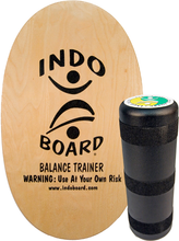 Indoboard - Deck / Roller Kit Natural - Balance Board