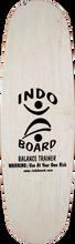 Indoboard - Mini Pro Deck / Roller Kit Natural - Balance Board