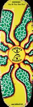 Indoboard - Pro Deck / Roller Kit Sunburst - Balance Board