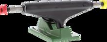 Industral Trucks - Iv 5.0 Rasta Ii Blk / Grn W / Blk Logo Ppp - (Pair) Skateboard Trucks