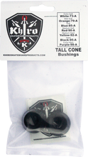 Khiro - Tall Cone Bushing Set 95a Hard Black - Skateboard Bushings