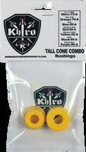 Khiro - T - Cone / L - Barrel Bushing Set 92a M - Hard Yel - Skateboard Bushings