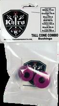Khiro - T - Cone / L - Barrel Bushing Set 99a X - Hard Purp - Skateboard Bushings