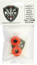 Khiro - Tall Cone Bushing Set 79a Mild - Soft Orange - Skateboard Bushings