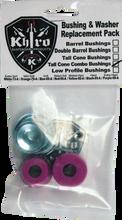 Khiro - T - Cone / L - Brl Bushing / Wash Kit 99a X - Hard Pur - Skateboard Bushings
