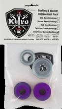Khiro - S - Cone / L - Brl Bushing / Wash Kit 99a X - Hard Pur - Skateboard Bushings
