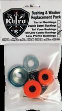 Khiro - T - Cone / L - Brl Bushing / Wash Kit 79a M - Sft Org - Skateboard Bushings