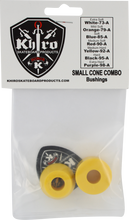 Khiro - S - Cone / L - Barrel Bushing Set 92a M - Hard Yel - Skateboard Bushings