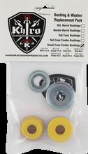 Khiro - S - Cone / L - Brl Bushing / Wash Kit 92a M - Hard Yel - Skateboard Bushings