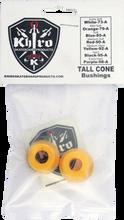 Khiro - Tall Cone Bushing Set 92a M - Hard Yellow - Skateboard Bushings