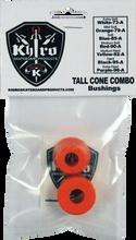 Khiro - T - Cone / L - Barrel Bushing Set 79a Mild - Sft Org - Skateboard Bushings