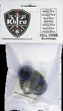 Khiro - Tall Cone Bushing Set 85a Soft Blue - Skateboard Bushings
