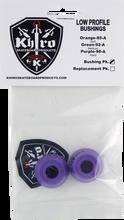 Khiro - Low - Pro Bushing Set 98a X - Hard Purple - Skateboard Bushings