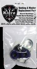 Khiro - Tall Cone Bushing / Wash Kit 85a Soft Blue - Skateboard Bushings