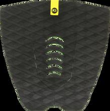 Kinetik - L.e. Two Track 3pc Black Traktion - Surfboard Traction
