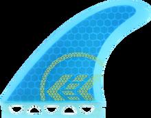 Kinetik - Joel Parkinson Ultra Core Sml Ffs Blu W / Yel - Surfboard Fins