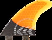 Kinetik - Joel Parkinson Carbo Tune S - M Fcs Orange - Surfboard Fins