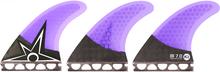 Kinetik - B.irons Carbo Tune Xs - S Ffs Purple - Surfboard Fins