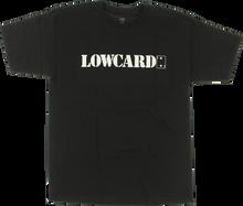 Lowcard - Standard Ss Xl - Black - Skateboard Tshirt