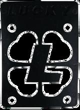 """Lucky Bearings - Black 1 / 8"""" Risers Single - Skateboard Riser"""