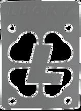 """Lucky Bearings - Silver 1 / 8"""" Risers Single - Skateboard Riser"""