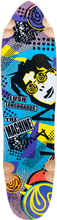 Lush - Machine 80's Deck - 9.87x38 / 24.25 - 25wb - Skateboard Deck