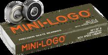 Mini Logo - Logo Bearing Single Set Ppp - Skateboard Bearings