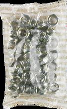 Mini Logo - 50 ack Axle Nuts Silver