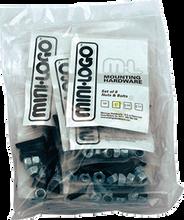 "Mini Logo - 10 ack Hardware 1 - 1 / 4"" Phillips Black"