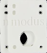 "Modus - Riser Pad Set 1 / 8"" White - Skateboard Riser"