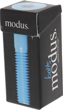 "Modus - 1 - 1 / 4"" Allen Hardware Blk / Blue Single Set"
