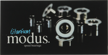 Modus - Titanium Bearings Single Set - Skateboard Bearings