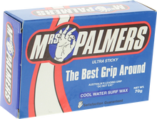 Mrs Palmers - Palmers Wax Cool Single Bar - Surfboard Wax