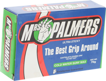 Mrs Palmers - Palmers Wax Cold Single Bar - Surfboard Wax