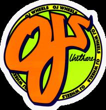 "Oj Wheels - Standard 3""x3"" Decal Single - Skateboard Decal"