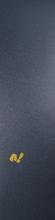 Paradox - Single Sheet Gold Logo 9x33 Griptape - Skateboard Grip Tape