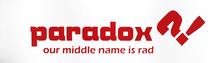 Paradox - 20 / Box Gold Logo 9x33 Griptape - Skateboard Grip Tape