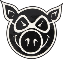 Pig - Head Med Decal Single - Skateboard Decal
