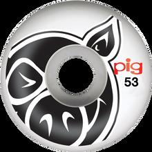 Pig - Head Natural 53mm - (Set of Four) Skateboard Wheels