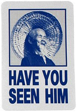 Powell Peralta - Have You Seen Him Decal Single Ast.colors - Skateboard Decal