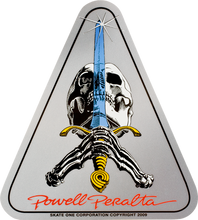 Powell Peralta - Skull & Sword Decal Single - Skateboard Decal