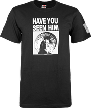 Powell Peralta - Have You Seen Him Ss S - Black - Skateboard Tshirt